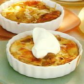French apple clafouti