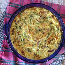 Lightened Up - Crustless Cottage Cheese Quiche