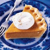 Easy Eggnog Pumpkin Pie