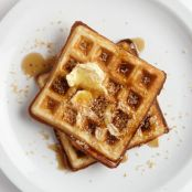 Toasted Coconut Waffles