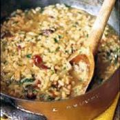 Sun-Dried-Tomato and Pesto Risotto