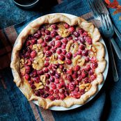 Maple Walnut Cranberry Pie
