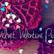 Red Velvet Cake Pizzelles