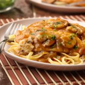 Chicken in Sweet Onion Mushroom Sauce (Campbell's)