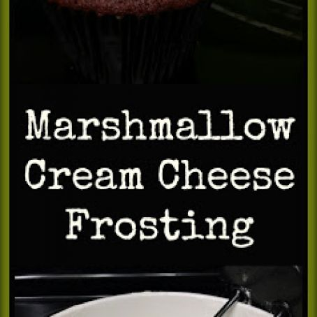 Marshmallow and Cream Cheese Frosting or Dip