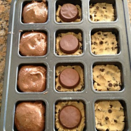Dessert Heaven Cookie Dough Reese S And Brownies