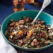 Wild Rice Dressing with Roasted Chestnuts & Cranberries