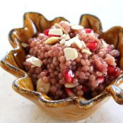 Pomegranate Israeli Couscous