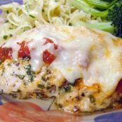 Easy Bake Chicken Parmesan (No Breading)