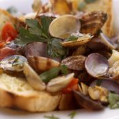 CLAMS: Zuppa di Vongole: Clam Soup