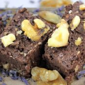Raw Lavendar Walnut Coconut Fudge