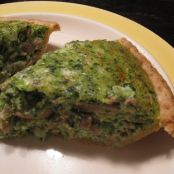 Spinach Souffle Quiche