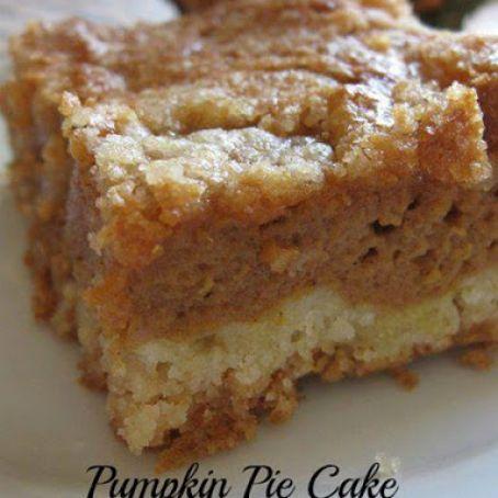 Pumpkin Pie Cake Recipe 4 5