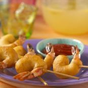 Batter-dipped Shrimp