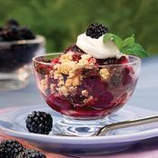 Very Berry Blackberry Dump Cake