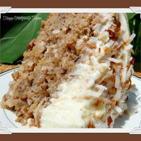 Hawaiian Wedding Cake Recipe 4 5
