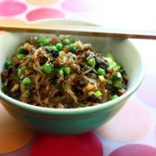 Cellophane noodles with ground pork