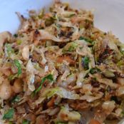 Cabbage: Coconut Shredded Cabbage