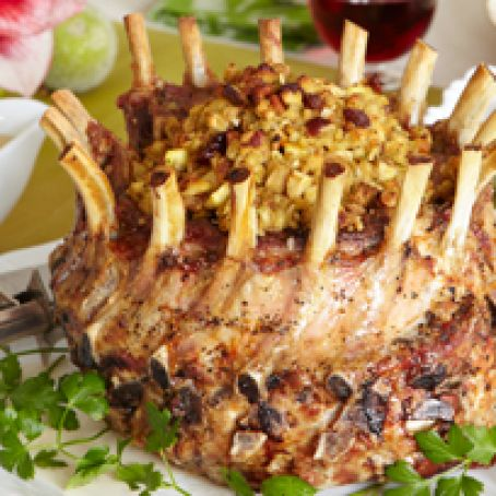 Crown Pork Roast with Stuffing