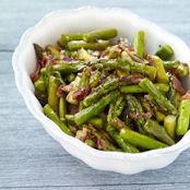 Sautéed Asparagus with Bacon
