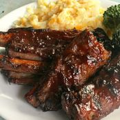 Four Ingredient BBQ Ribs