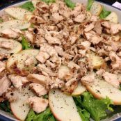 Blue Cheese, Chicken, Apple and Pecan Salad