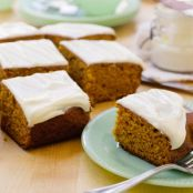 Pumpkin Bread with Cream Cheese Icing (David Venable QVC)