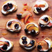 Cherry & Plum Bruschetta