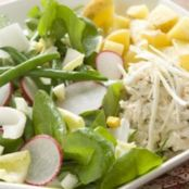 3  Crab Salad with Lemon Dressing