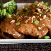Pressure Cooker Thai Chicken Thighs