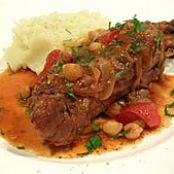 Braised Lamb Shanks with North African Spices