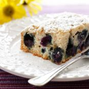 Easy Blueberry Buttermilk Cake