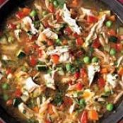 Toasted Orzo Soup