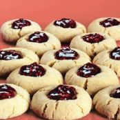 Peanut Butter & Jelly Thumbprint