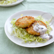 Codfish and Potato Fritters