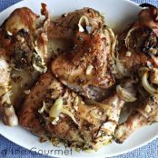Baked Chicken with Citrus and Garlic Marinade