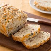 Gluten Free Buttermilk Cheddar-Bacon Bread