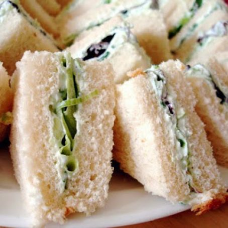Cream Cheese Spread for Cucumber Sandwiches
