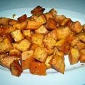 Honey and Rosmary Sweet Potatoes