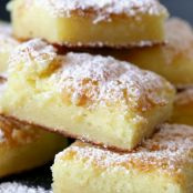 2-Ingredient Lemon Cake Bars