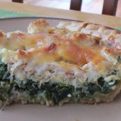 Crab, Bacon and Spinach Quiche