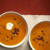 Southwestern Winter Squash Soup from Food Network Kitchen