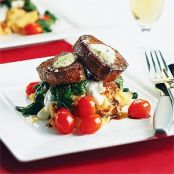 Southwestern Beef Tenderloin with Chipotle Mashed Potatoes