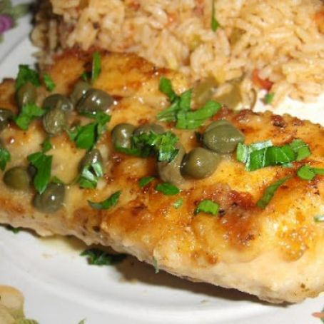 Cajun Chicken with Capers and Lemon