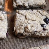 Blueberry-Greek Yogurt Scones