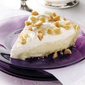 Macadamia Nut - Banana Cream Pie