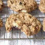 Chewy Oatmeal Cookies with Toffee, Coconut, and Walnuts