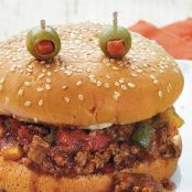 Halloween Sloppy Joes