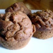 One-Bowl Pumpkin Oatmeal Muffins