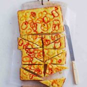 Cheese & Sweet Pepper Cornbread